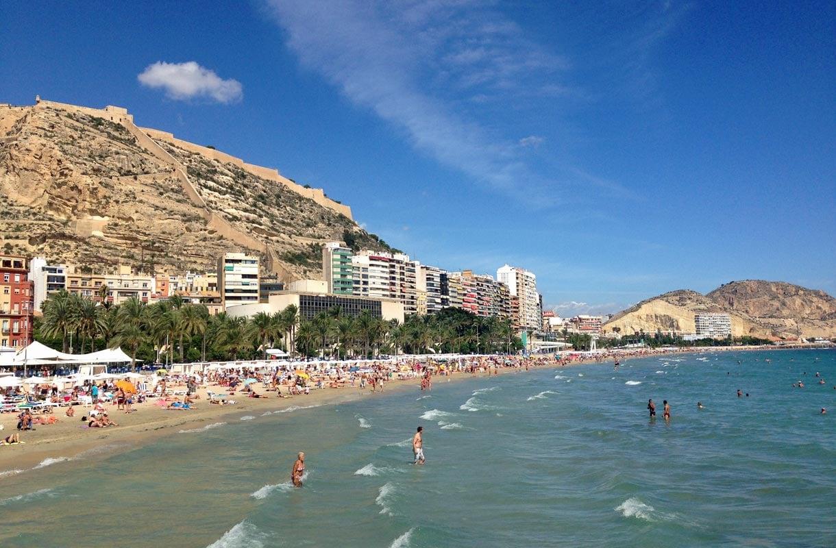 paikka Espanja vaalea