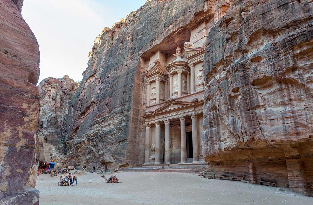 Petra Jordaniassa