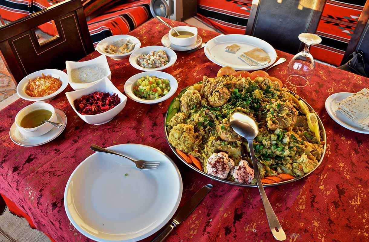 Jordanialaista ruokaa