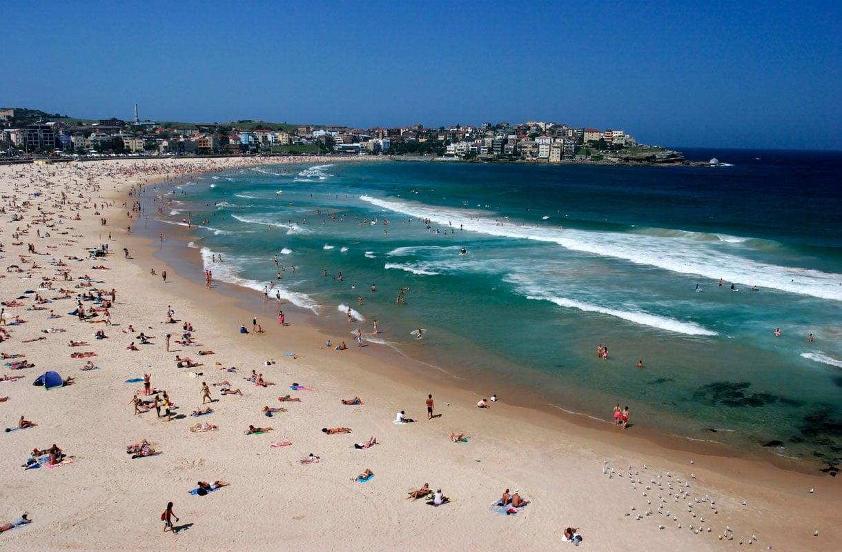 Bondi Beach -ranta Australian Sydneyssä