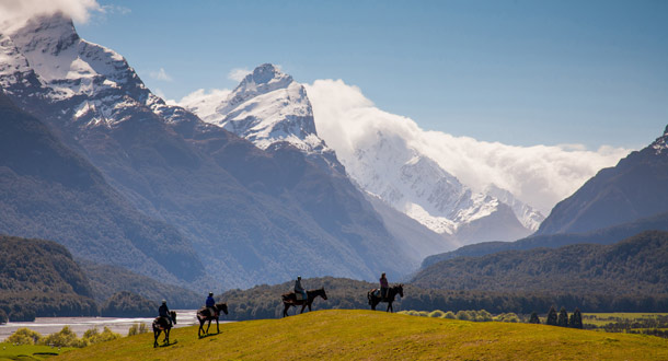 Uuden-Seelannin Glenorchyssa kuvattiin Taru Sormusten herrasta