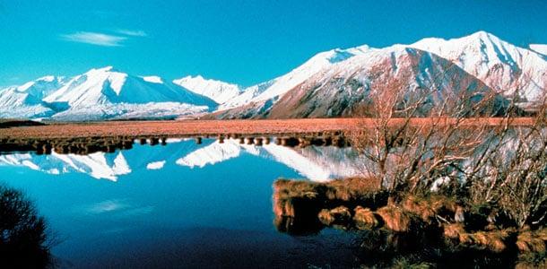 Elokuvista tuttuja maisemia Uudessa-Seelannissa