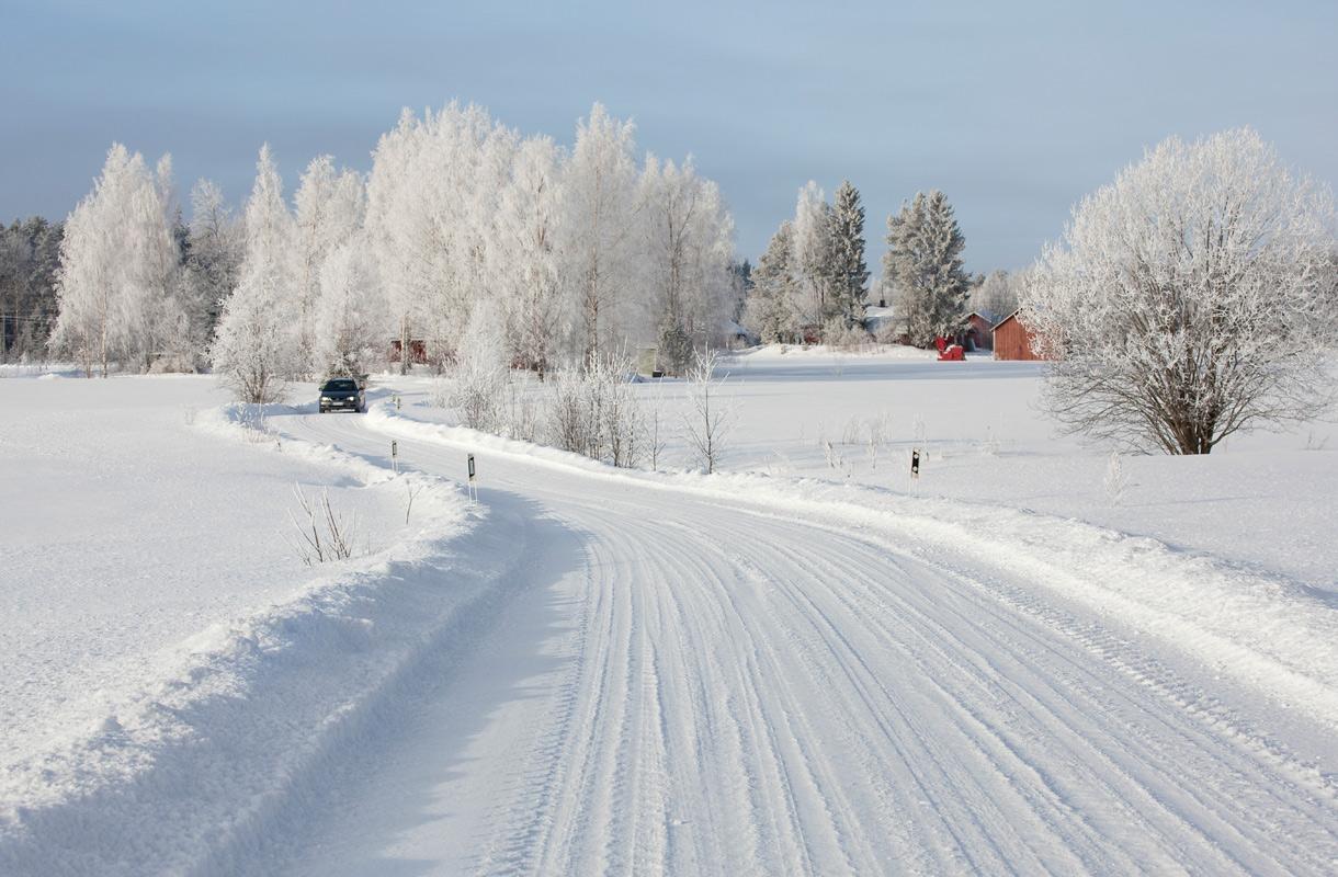 Autoilu talvella