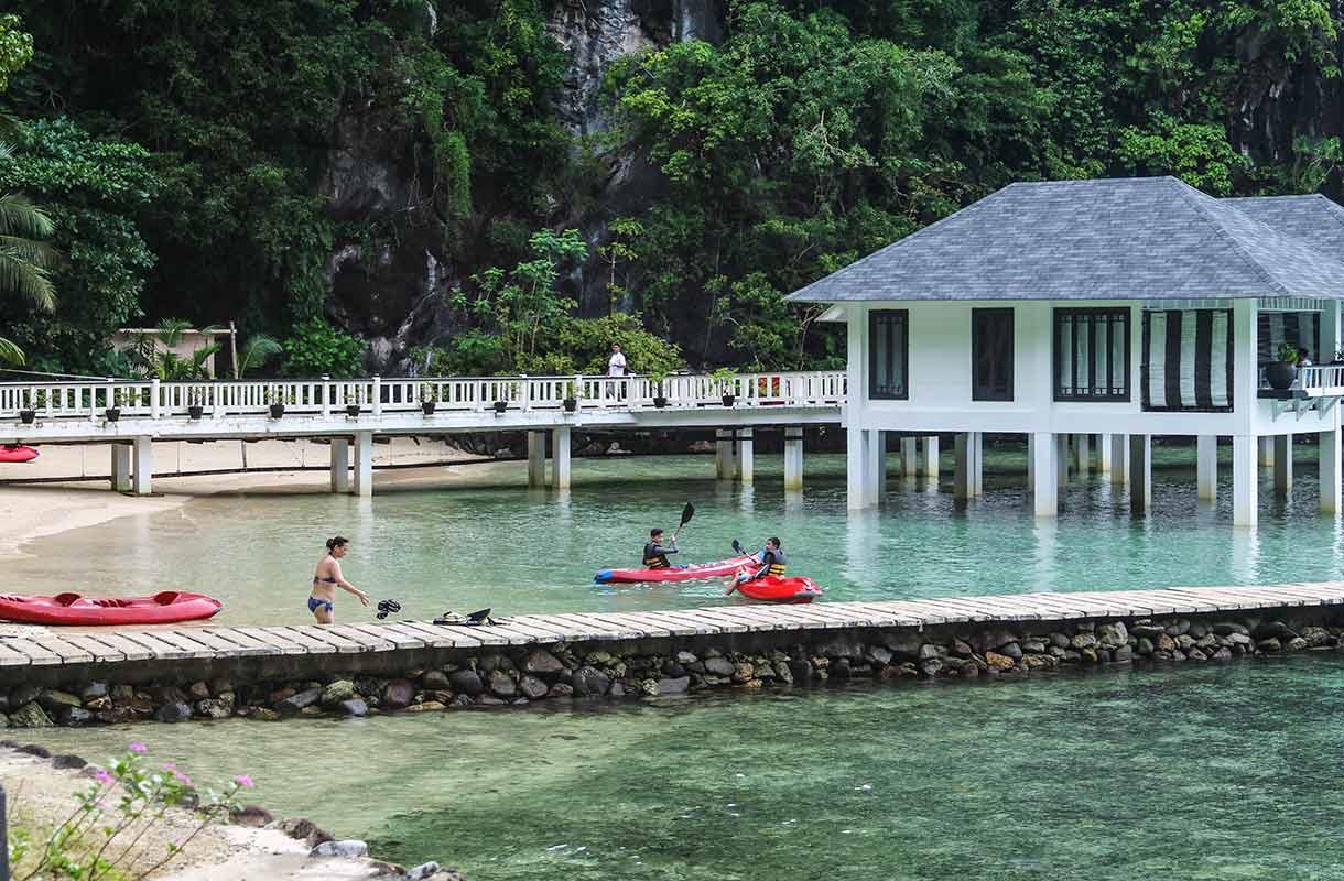 Bungalow Filippiineillä