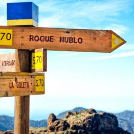 Roque Nublo, Espanja
