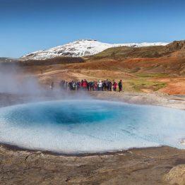 Upeat maisemat Islannissa