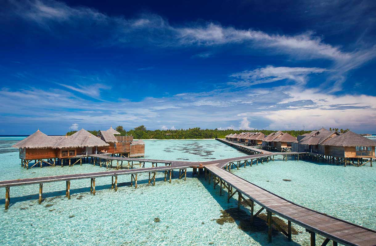 Bungalowit Malediiveilla