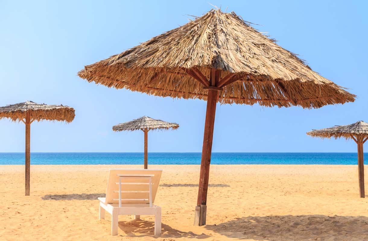 Boa Vistan ranta Kap Verdellä