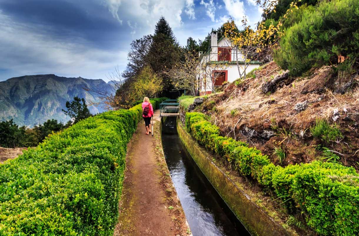 Vaellusloma Madeiralla