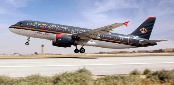 Royal Jordanian lentokone