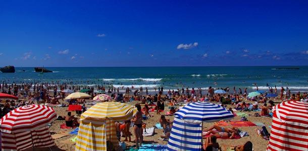 Biarritzin ranta