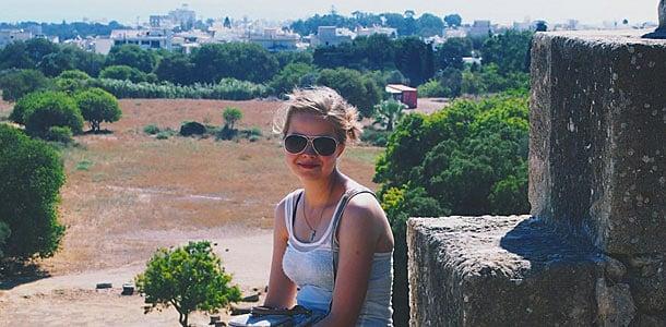 Liikkeellä-blogin Sofia