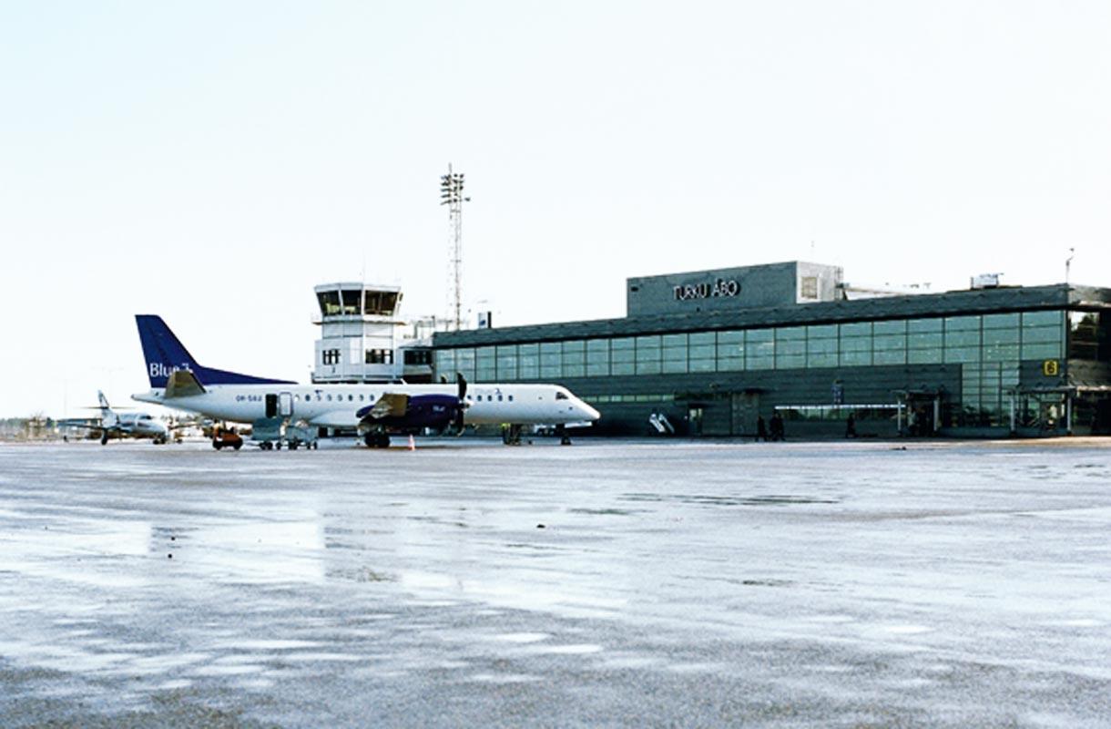 Kaikki lentoreitit Turusta ja Turkuun