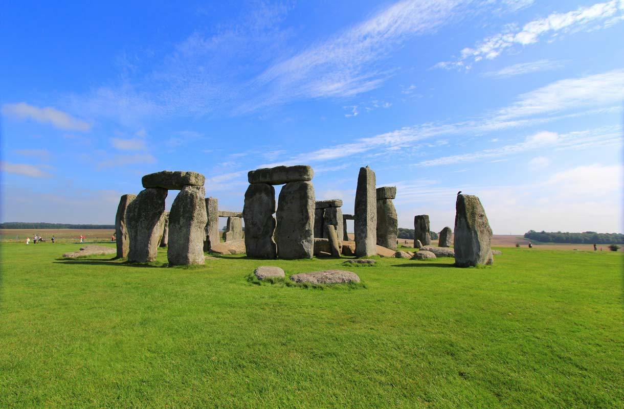 Stonehenge on Britannian mystisin vierailukohde.