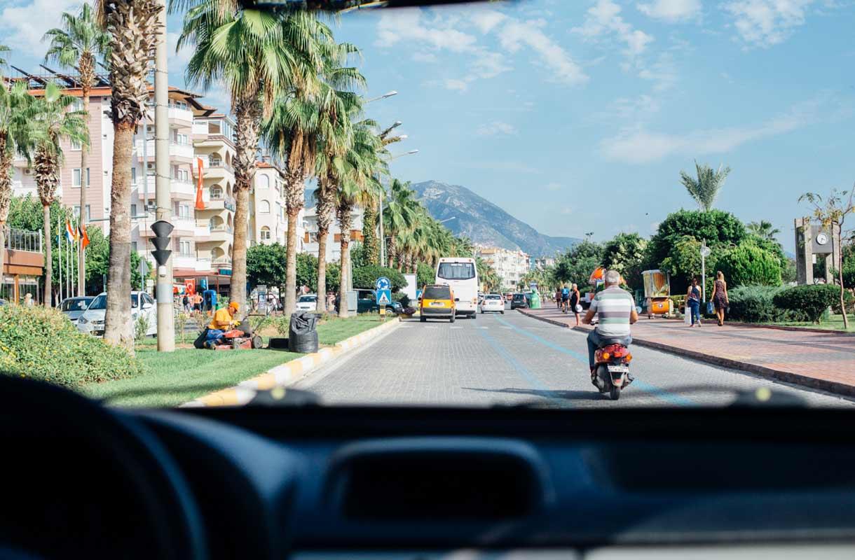 Autolilijan vinkit Turkkiin