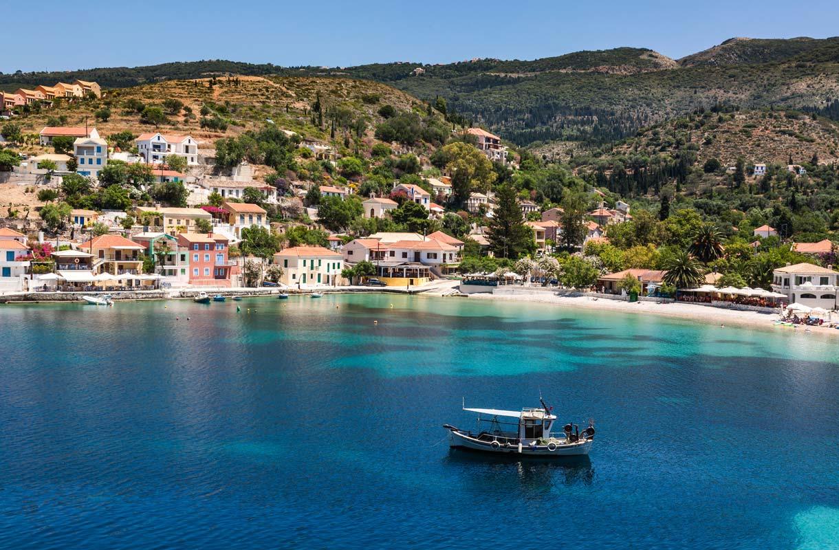 Kefalonia on kesäinen saarikohde Kreikassa
