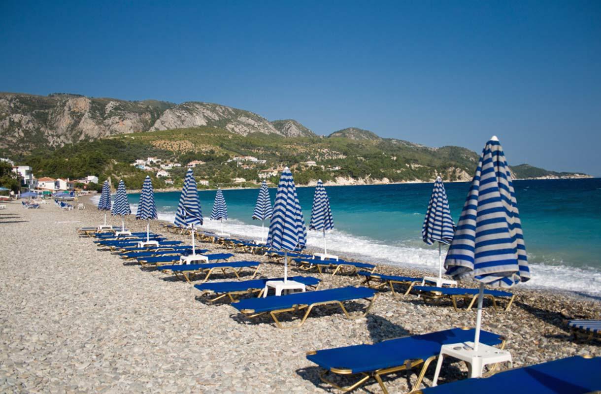 Samos on suosittu saari Kreikassa