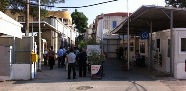 Rajanylityspaikka Nikosiassa