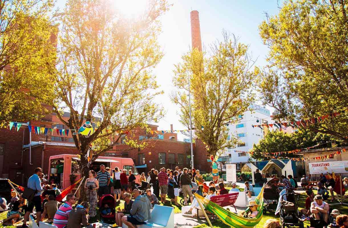 Teurastamo on Helsingin trendikkäimpiä kaupunkialueita.