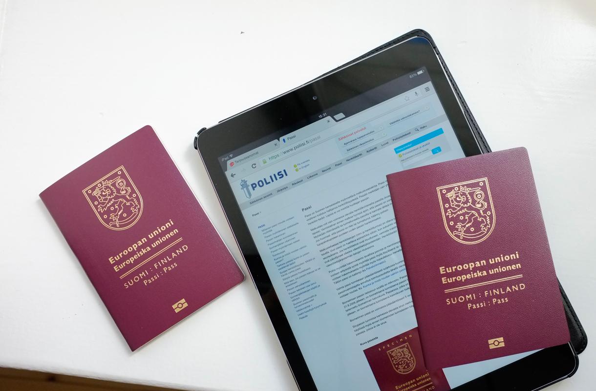 Passi Hakemus Netissä