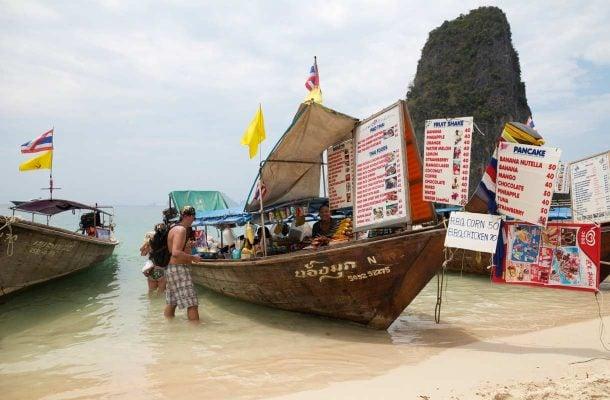 Railay Beach, Krabi, Thaimaa