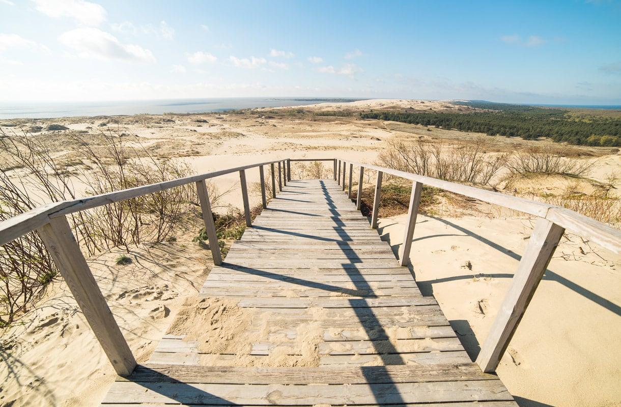 Neringan ranta, Liettua