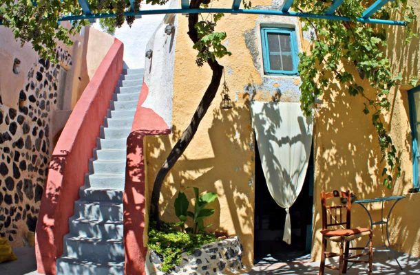 Caveland-hostelli Kreikassa