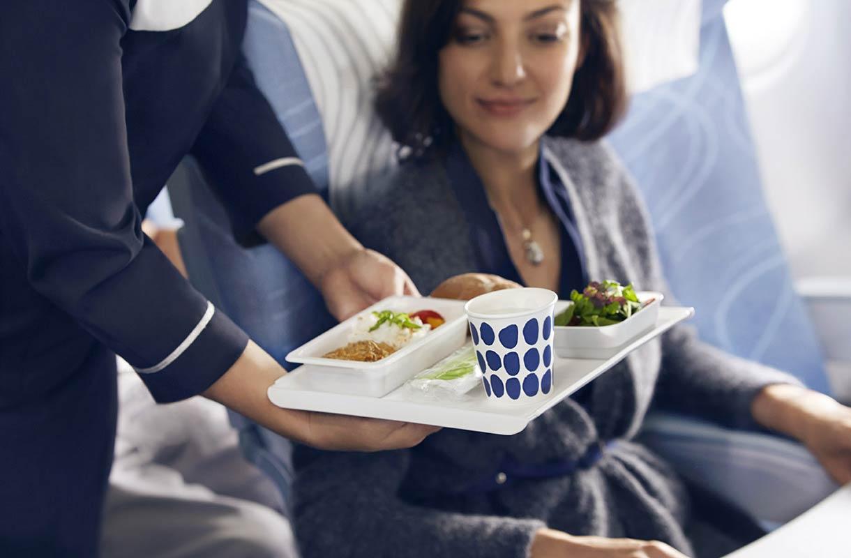 Finnair Ateriat Lennolla