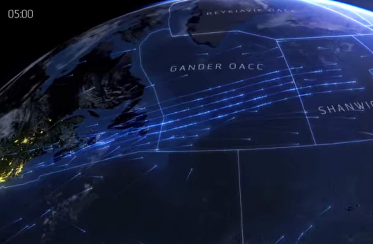 Maailman lentoreitit