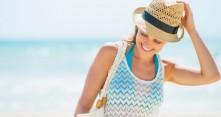Aurinkoisella rannalla