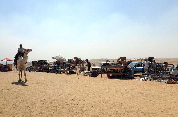 Kauppiaat Gizassa