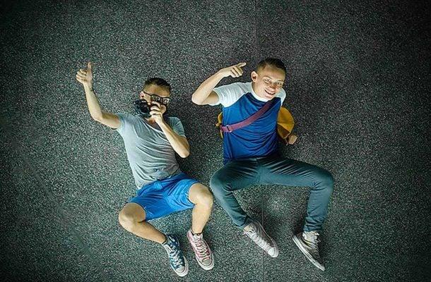 Otto Lilja ja Alex Aalto