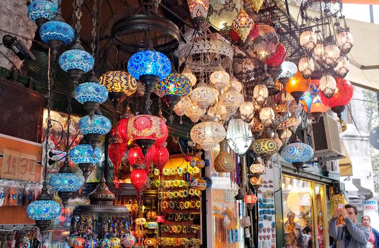 Shoppailu Istanbulissa