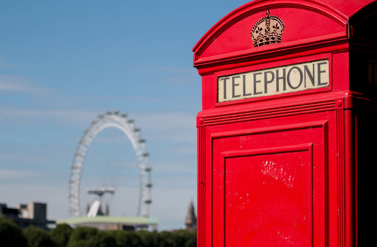Lontoon puhelinkoppi