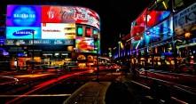 Lontoo yöllä