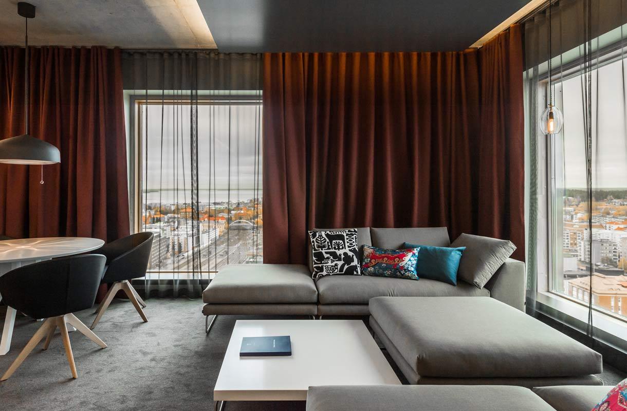 Solo Sokos Hotel Torni Tampere on Suomen korkein hotelli