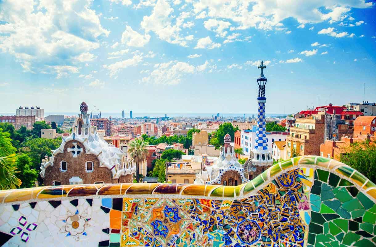 Gaudin rakennukset Barcelonassa