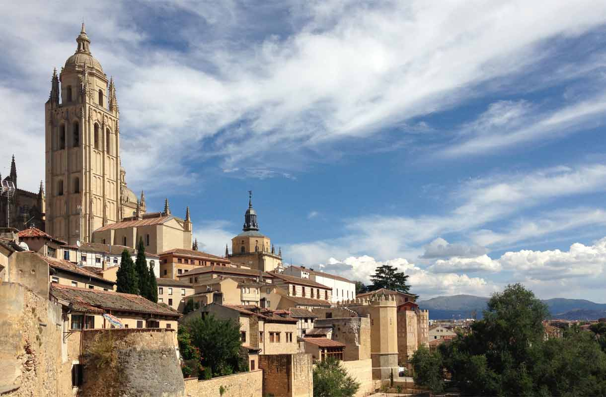 Segovian vanhakaupunki