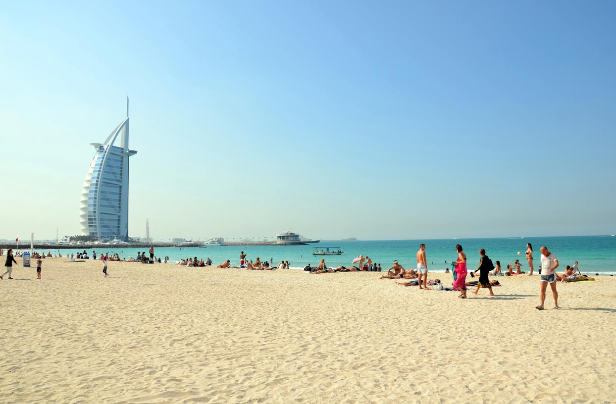Dubain parhaat rannat