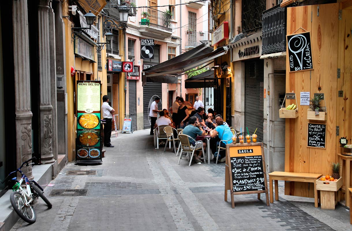 Ravintola Espanjassa