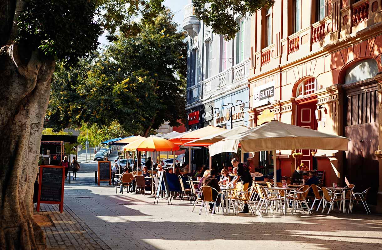 Teneriffan pääkaupunki Santa Cruz