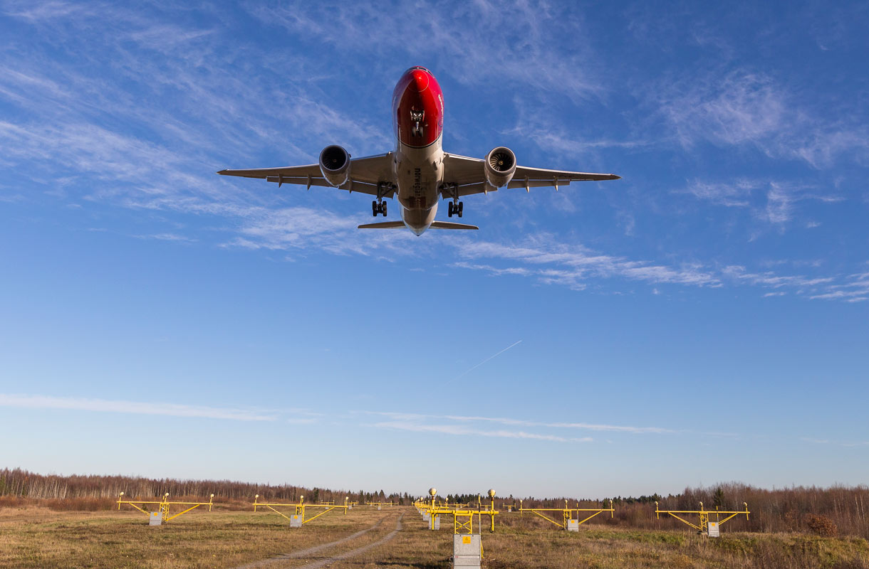 IAU:n tukilakko vaikutta Norwegianin Helsingin-lentoihin