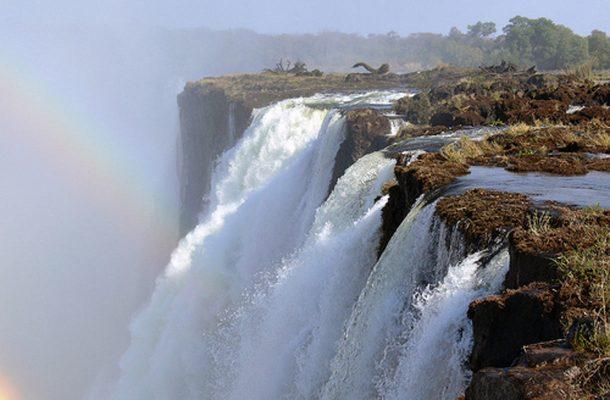 Näkymä Zimbabwen puolelta.