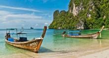 Rantamaisemia Thaimaassa