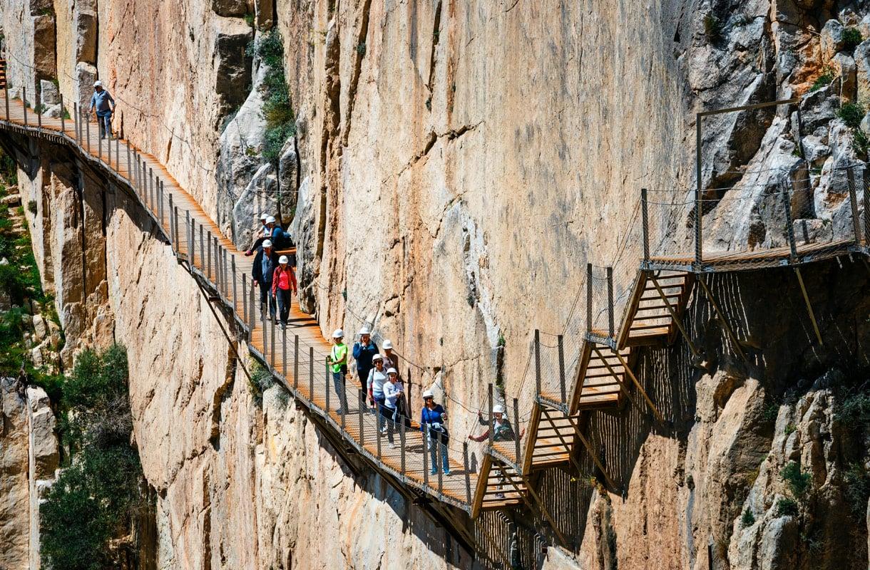 Caminito del Rey, Espanja