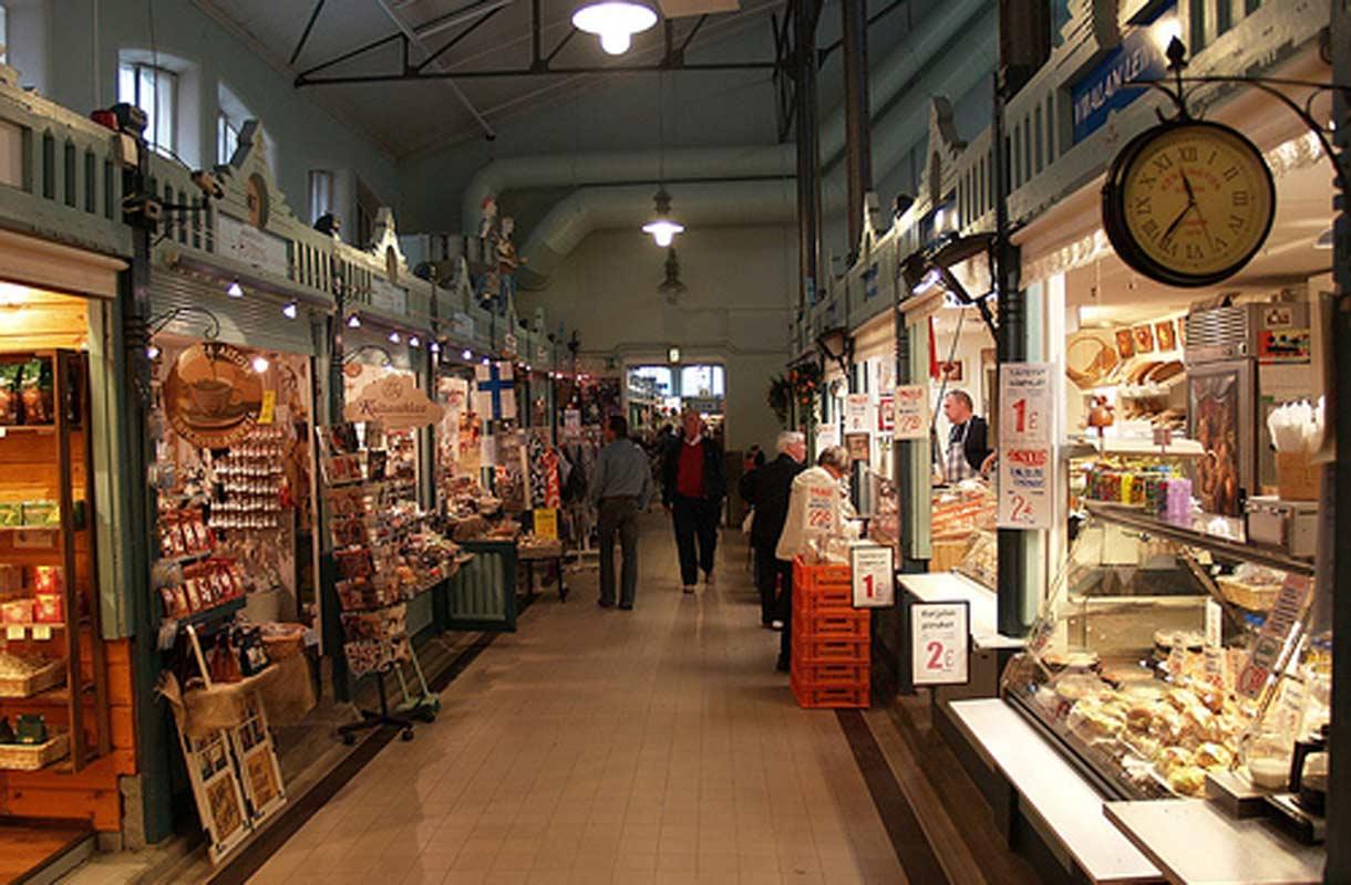 Tampereen Kauppahalli on palvellut asiakkaita vuodesta 1901 saakka. Kuva  a7557120a1