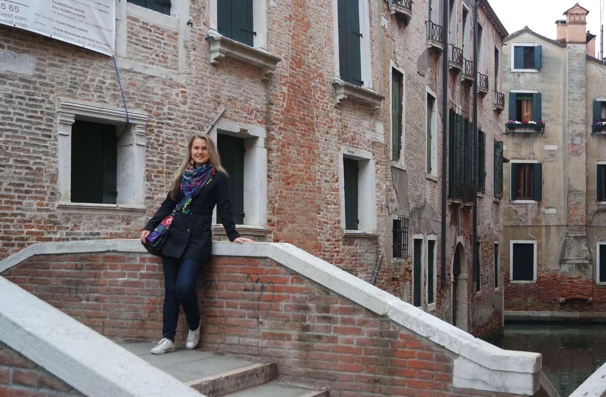 Mari Koskelo Venetsiassa
