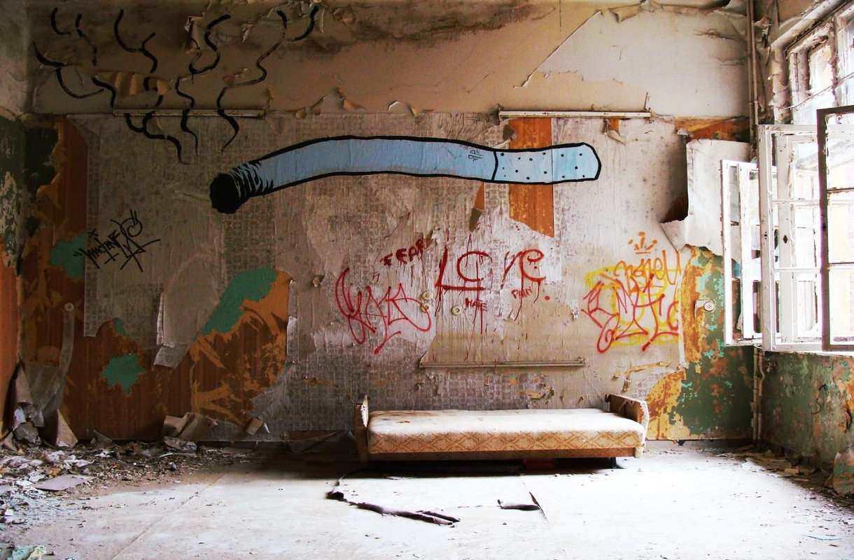 Erikoinen nähtävyys Berliinin lähellä: Beelitz-Heilstättenin sairaala