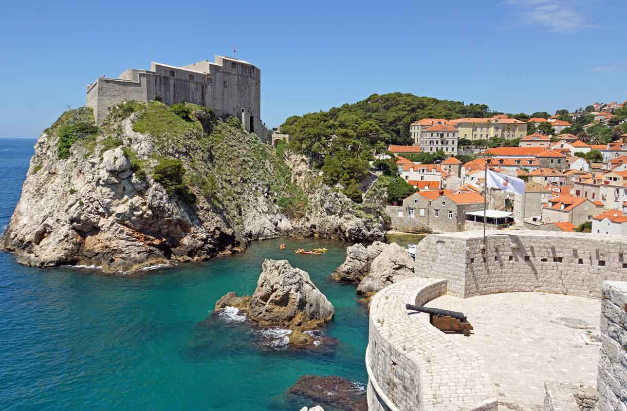 Kroatian Dubrovnik on suosittu lomakohde