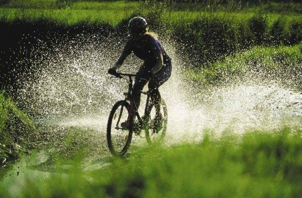 Maastopyöräilyä Lapissa